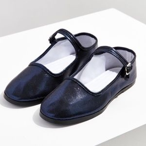 Urban Outfitters Blue Sapphire Mary Janes 9